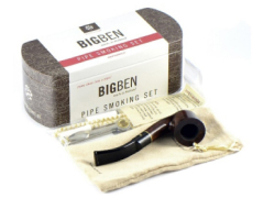 Набор трубочный Big Ben Smoking Set Brown Bent