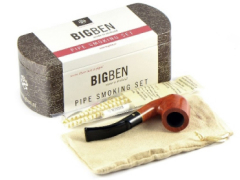 Набор трубочный Big Ben Smoking Set Nature Bent