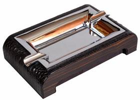Пепельница настольная Gentili 930-Croco black