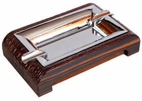 Пепельница настольная Gentili 930-Croco brown