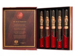 Подарочный набор сигар Gurkha Private Selection Churchill Rum