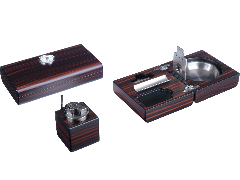 Подарочный набор сигарных аксессуаров Lubinski SET-Q2472-2