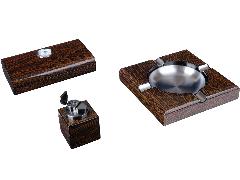 Подарочный набор сигарных аксессуаров Lubinski SET-Q249