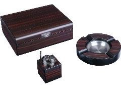 Подарочный набор сигарных аксессуаров Lubinski SET-Q2572-1