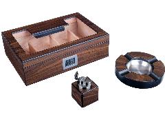 Подарочный набор сигарных аксессуаров Lubinski SET-Q2769