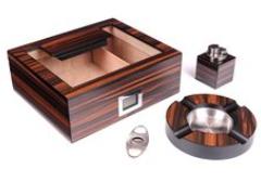 Подарочный набор сигарных аксессуаров Lubinski SET-QB228