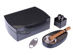 Подарочный набор сигарных аксессуаров Lubinski SET-QB305