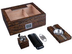 Подарочный набор сигарных аксессуаров Lubinski SET-QB509