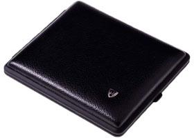 Портсигар Stoll C05-1 Черный Калипсо на 26 сигарет
