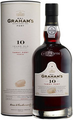 Портвейн Graham's 10 Year Old Tawny Porto, 0.75л
