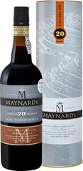 Портвейн Maynard's Tawny Porto 20 Years Old in tube, 0,75 л.