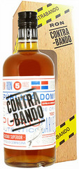 Ром Contrabando 5 Years Old gift box, 0,7 л.