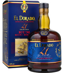 Ром El Dorado Special Reserve 21 Years Old, 0.7 л