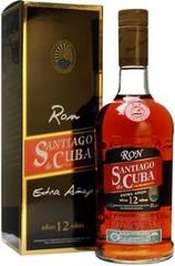 Ром Santiago de Cuba Extra Anejo 12 years old gift box, 0,7 л.