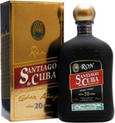 Ром Santiago de Cuba Extra Anejo 20 years old gift box, 0,7 л.