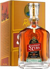 Ром Santiago de Cuba Extra Anejo 25 years old gift box, 0,7 л.