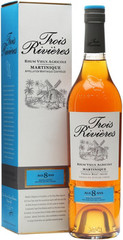 Ром Trois Rivieres 8 Years Old Martinique AOC gift box, 0,7 л.
