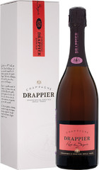 Шампанское Champagne Drappier, Brut Rose, Champagne AOC, gift box, 0,75 л.