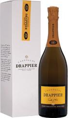 Шампанское Champagne Drappier Carte d'Or Brut, Champagne AOC, gift box , 0,75 л.