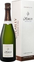 Шампанское Champagne Mailly Blanc de Pinot Noir gift box , 0,75 л.