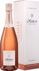 Шампанское Champagne Mailly, Brut Rose gift box , 0,75 л.