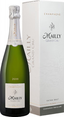 Шампанское Champagne Mailly, Grand Cru Extra Brut Millesime 2011, gift box , 0,75 л.