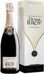 Шампанское Duval-Leroy Pur Chardonnay Brut Rеserve gift box , 0,75 л.