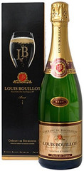 Шампанское Louis Bouillot Brut Grande Reserve Cremant de Bourgogne AOC gift box , 0,75 л.