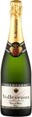 Шампанское Vollereaux Blanc de Blancs Brut Champagne, 0,75 л.