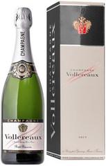 Шампанское Vollereaux Brut Reserve Champagne gift box, 0,75 л.