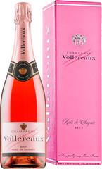 Шампанское Vollereaux Brut Rose de Saignee Champagne gift box, 0,75 л.