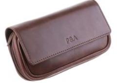 Сумка P&A для 2 трубок и табака 415-Brown