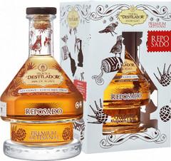 Текила El Destilador Premium Artesanal Reposado, gift box, 0.75 л