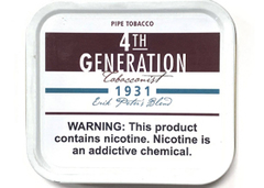 Трубочный табак 4th Generation 1931 банка 50 гр.