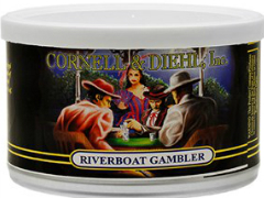 Трубочный табак Cornell & Diehl Tinned Blends Riverboat Gambler