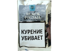 Трубочный табак Gawith Hoggarth Black Pigtail 40 гр.