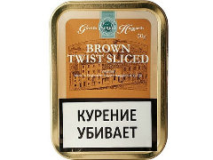 Трубочный табак Gawith Hoggarth Brown Twist Sliced 50 гр.