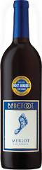 Вино Barefoot Merlot, 0,75 л.