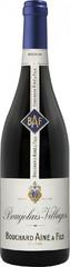 Вино Bouchard Aine & Fils Beaujolais Villages AOP, 0,75 л.