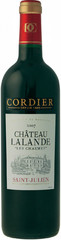 Вино Chateau Lalande Les Charmes Saint-Julien AOC, 2007 , 0,75 л.