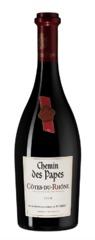 Вино Chemin des Papes Cotes-du-Rhone Rouge, 0,75 л.