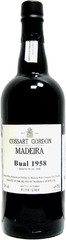 Вино Cossart Gordon Bual 1958, 0,75 л.