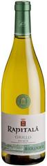 Вино Rapitala Grillo Biologico Sicilia DOC, 0,75 л.