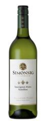 Вино Simonsig Sauvignon Blanc-Semillon, 0,75 л.