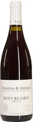 Вино Stapleton-Springer Ben's Reserve Pinot Noir 2015, 0,75 л.