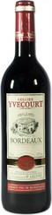 Вино Yvon Mau Yvecourt Bordeaux AOC Red, 0,75 л.