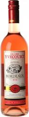 Вино Yvon Mau Yvecourt Bordeaux AOC Rose 2016, 0,75 л.