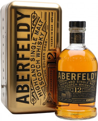 Виски Aberfeldy 12 Years Old, metal box, 0.7 л