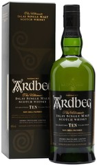 Виски Ardbeg 10 YO, in gift box, 0.7 л