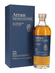 Виски Arran 21 Years Old gift box, 0.7 л.